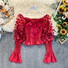 blouse, off shoulder top, Moda, Lolita fashion