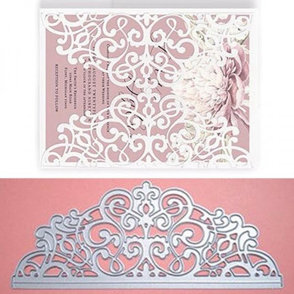 New Lace Flowers Metal Cutting Dies Stencil Scrapbooking Album Card Making Decor