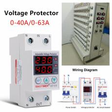 lowvoltagearrester, Adjustable, voltageprotector, circuitbreaker