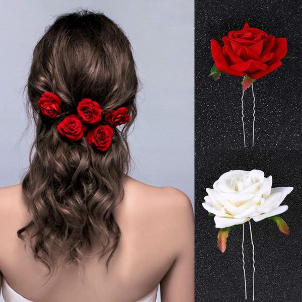 Flowers, headdress, Jewelry, Rose