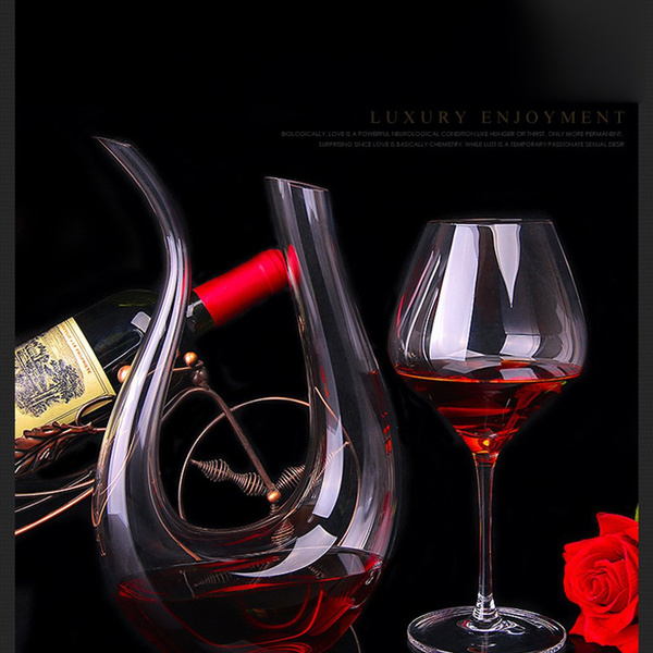 Crystal, Glass, winepourer, redwinepourercontainer
