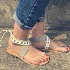 Flats, Sandals, Women Sandals, cute