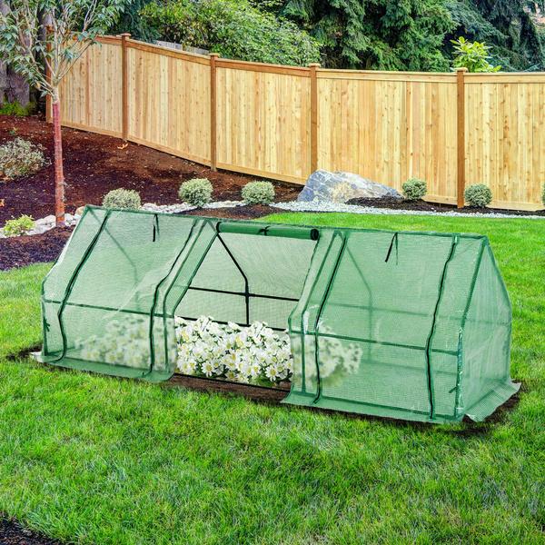Green, greenhouse