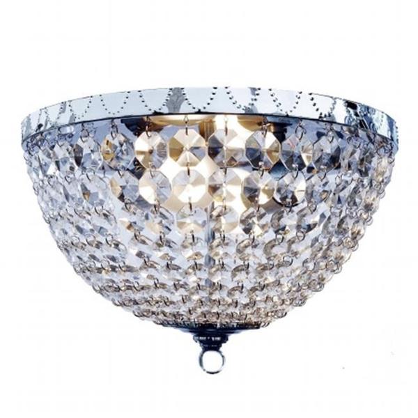 Elegant, chrome, ceilinglightfixture, lightingdecor