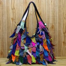 Shoulder Bags, Tassels, multifunctionalbag, Tote Bag