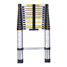Aluminum, aluminumladder, ladder, telescopicladder
