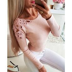 blouse, blouse women, long sleeve blouse, Lace