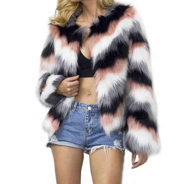 fauxfurcoat, warmjacket, fur, Winter