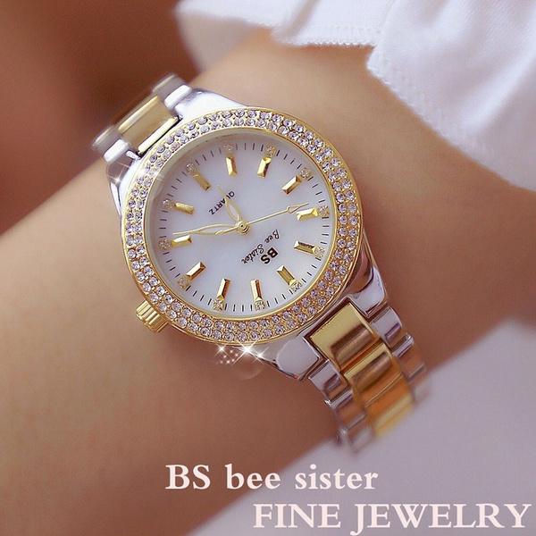 Steel, quartz, Dress Watches, Jewelry