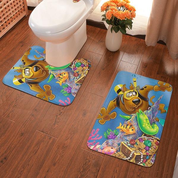 indoormat, Bathroom, scoobydoo, rubberkitchenmat