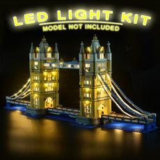lego10214, decoration, Toy, led