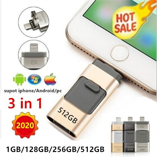 32GB USB Flash Drive 32GB Free Mobile Phone Storage for Laptops USB Flash Drive for Type-C Interface Color : Silver, Size : 65x14x9.2mm AiKuJia-HO USB Flash Drives 3.0 USB Flash Drive