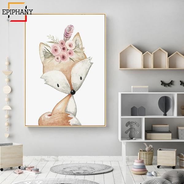 modularpicture, housedecoration, Deer, decoration