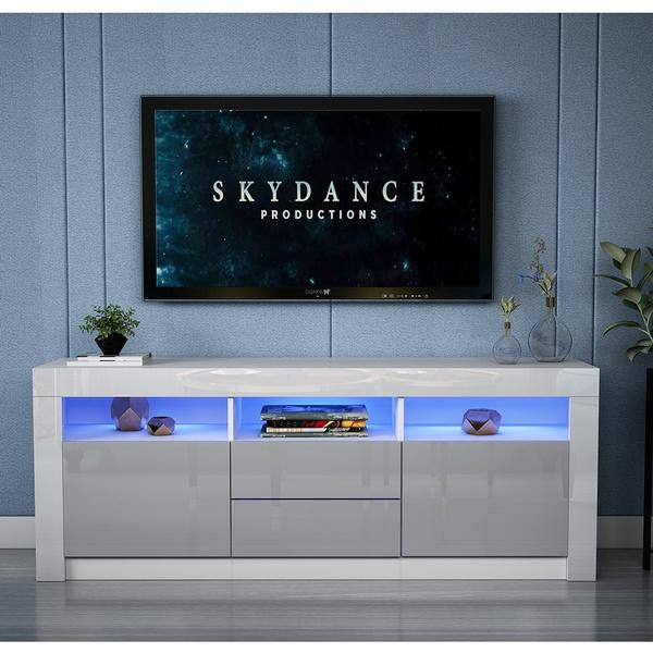 woodtvcabinet, Modern, led, TV
