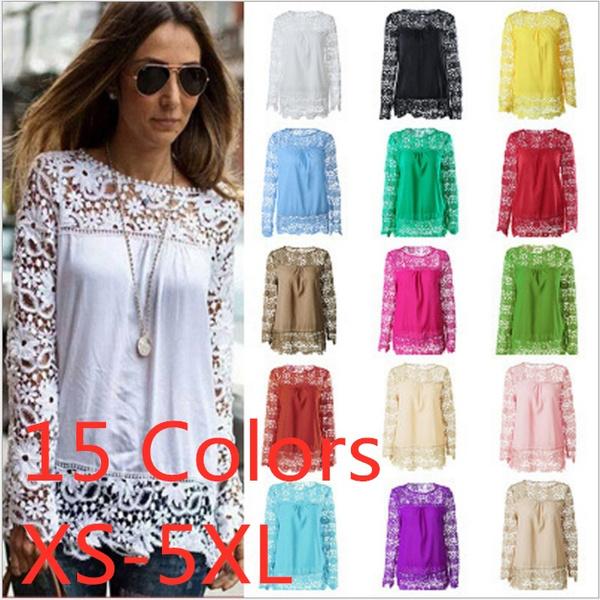 Chiffon Summer Shirt, Fashion, Lace, chiffon