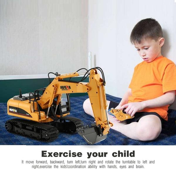 Toy, excavator, soundlight, RC