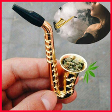 cigarettepipe, Cigarettes, Trumpet, Metal