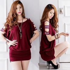 Mini, Fashion, korean style, Dress