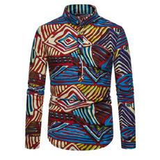 Fashion, nationalstyle, Shirt, Long sleeved