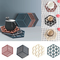 non-slip, Decor, DIAMOND, Coasters