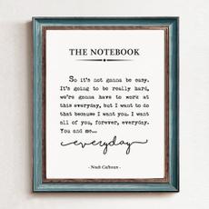 forher, thenotebookwalldecor, Romantic, Notebook