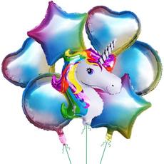 rainbow, Office, Balloon, decorationsfoil