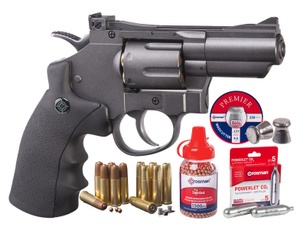 co2gun, airgun, Metal, revolver