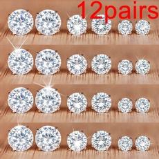 Jewelry, Stud Earring, Simple, Elegant