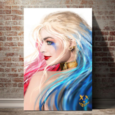 canvaswallart, art, Home Decor, harleyquinn