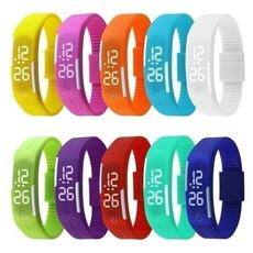 LED Watch, Bracelet, Touch Screen, Fashion