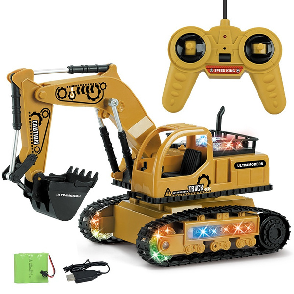 Toy, Remote Controls, Electric, excavator