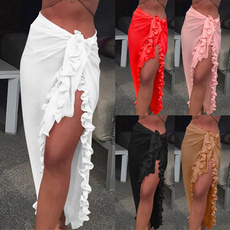 blouse, rufflesskirt, summer skirt, beachweawr