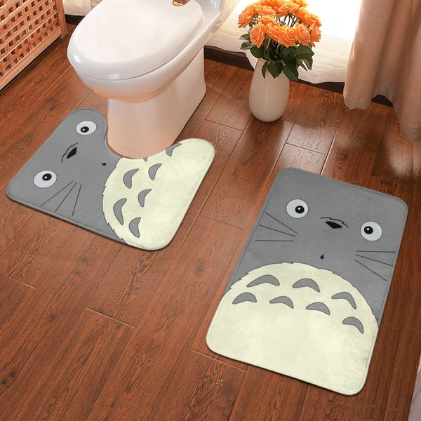 indoormat, My neighbor totoro, Bathroom, となりのトトロ