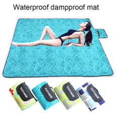 Family, plaid, waterproofmat, portable