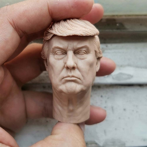Head, maleheadcarving, uspresidentheadmodel, headsculpture