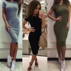 slim dress, Shorts, Office, Dress