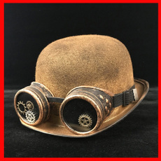 bowler hat, goldbowlerhat, Jewelry, gold