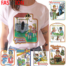 Funny, Fashion, Shirt, scary