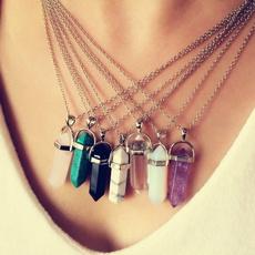 Chain Necklace, quartz, Jewelry, Chain