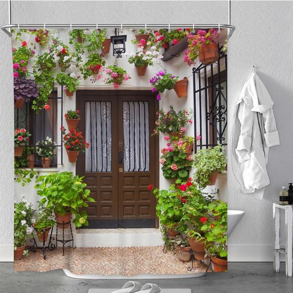 courtyard, Bathroom, Fashion, bathroomdecor