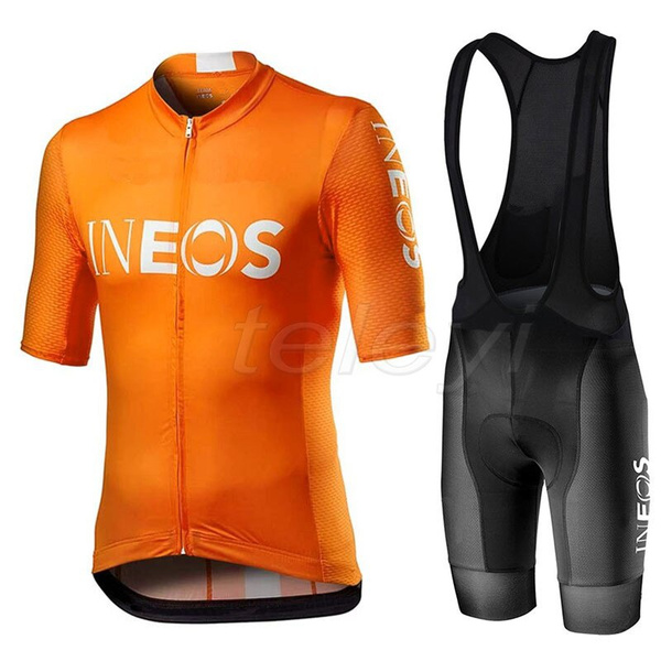 ineos Cycling Jersey MTB Cycling Jersey Short Sleeve