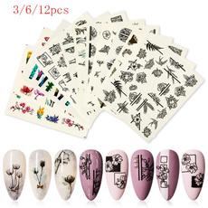 nail decoration, nail stickers, art, Beauty