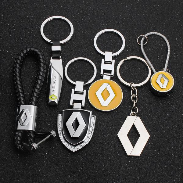 renaultclio, Key Chain, renault, metalkeyholder