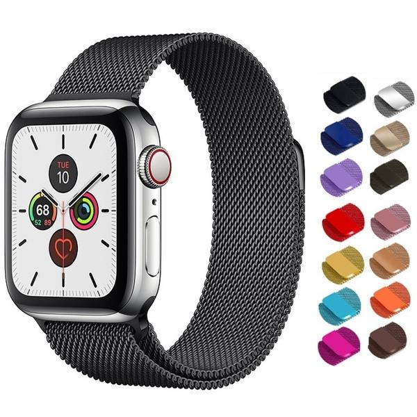 Steel, 44mmmilanesewatchband, watchbandforwomen, Apple