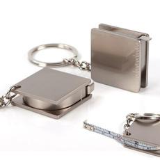 Steel, Key Chain, rulertape, ruler
