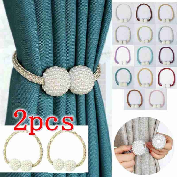 curtaindecor, pearls, Home & Living, Buckles