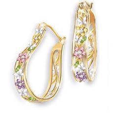 earringforwomen, Fashion Accessory, Flowers, flowerjewelry