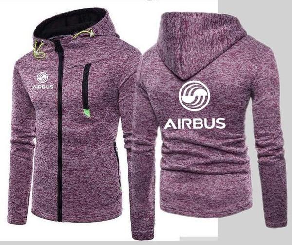 airbu, hooded, Hoodies, Long sleeved