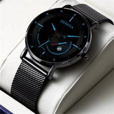 Steel, watchformen, Men Business Watch, Simple