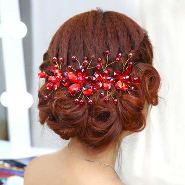 Flowers, Jewelry, flowerhairband, headwear
